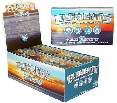 Element Rolling Papers (Pack Of 300 Papers) **Free Shipping**