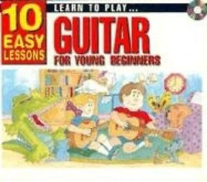 USED-VG-10-Easy-Lessons-Learn-To-Play-Guitar-for-Young-Beginner-CD-Size-by-Le