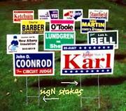 Yard Sign Stand
