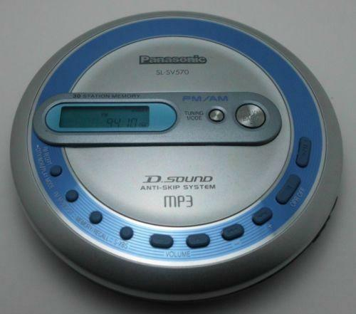panasonic am fm portable cd player ebay. Black Bedroom Furniture Sets. Home Design Ideas
