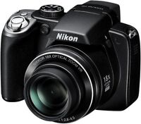 Nikon Coolpix P80 10.1MP 18X Digital Camera with Video Recording