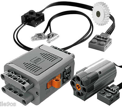 Lego Power Functions CUSTOMIZED PICK-UP TRUCK kit (technic,led,42029,motor,gear)