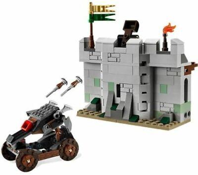 Lego Uruk-Hai Army Set # 9471 Ballista and Wall Only + Box + Instructions LOTR