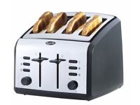 Breville VTT002 Polished Stainless Steel 4 Slice Toaster (USED)