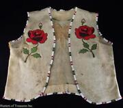 Native American Beaded Vest