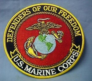 US-Marine-Corps-Defenders-Freedom-Hero-Emblem-USA-Patch-5-Collectible-New
