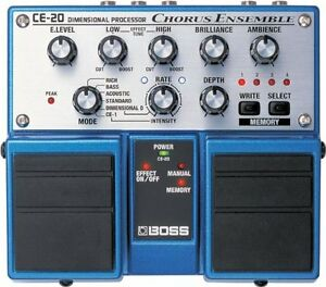 Boss CE-20 Chorus Ensemble Twin Pedal