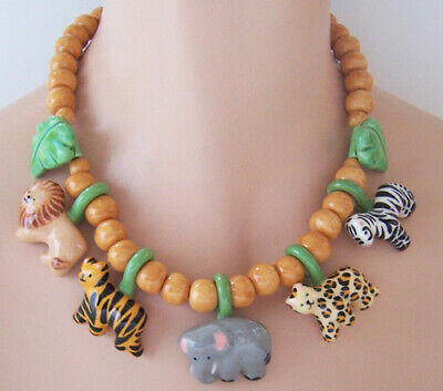 Dress Up As Animals (Flying Colors African Safari Animal Necklace ~ Wounded Warrior / As)