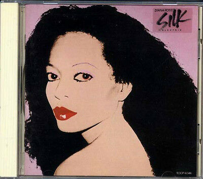 DIANA ROSS Silk Electric JAPAN 1st Press CD 1990 MICHAEL JACKSON TOCP6346 RARE
