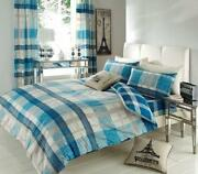 Teal King Size Duvet Cover