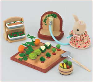 JP Sylvanian Families Vegetable Garden Set KA-616