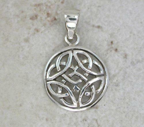 necklaces triquetra pendants topaz cross necklace knot collections pendant blue trinity celtic