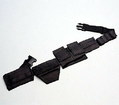 Ninja Utility Belt for Carrying Stars Knives Spikes Weapons Gear and Equipment