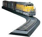 N-Track Black N Scale Model Railroad Train Tracks