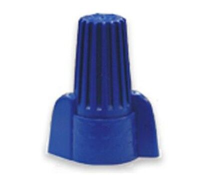 50 Pc New Blue Double Winged Nut Wire Connectors Large 14-6 Awg Ul Listed