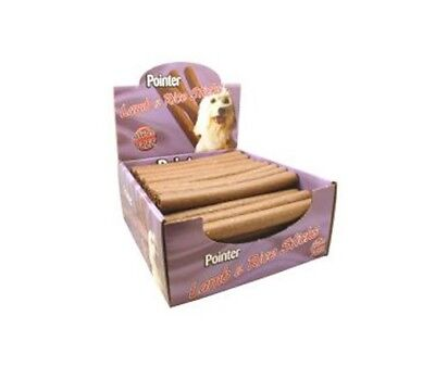 Pointer Lamb & Rice Stick Dog Treats x 50 Dog Food Feed