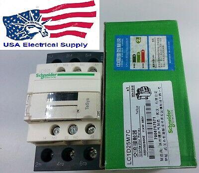 Lc1d25m7c Schneider Contactor Coil 220vac 5060hz