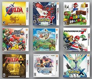 Want to buy 3ds and ds games