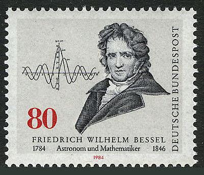 Germany 1422, MNH. Friedrich Wilhelm Bessel, Astronomer. Function Diagram, 1984