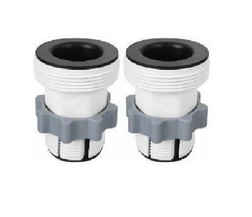 Intex Pool Hose Conversion Kit Set Adapter B For 1500, 2500 Saltwater Pumps