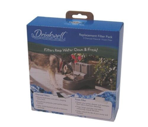 Drinkwell outdoor fountain replacement filters pac00 13192 for Garden fountain filters