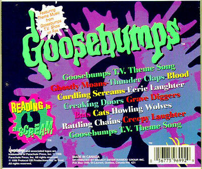 Goosebumps sounds of halloween classic scary haunted for Classic house cd