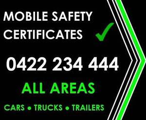 Safety Certificates - Cars - Trucks - Trailers Marsden Logan Area Preview