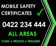 SAFETY CERTIFICATES Greenbank Logan Area Preview