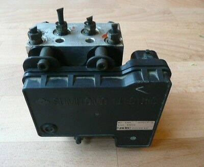 MAZDA MPV ABS CONTROL MODULE AND PUMP - PART NOS MD2A62D01F2 / LD48437AZ 4364452