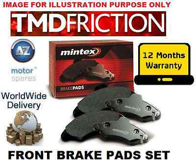 FOR AUDI Q3 SUV 2011 > 2.0TDI  2.0TFSI QUATTRO FRONT MINTEX BRAKE DISC PADS SET