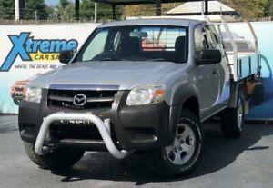 2009 Mazda BT-50 UNY0E4 DX+ Silver Manual Cab Chassis