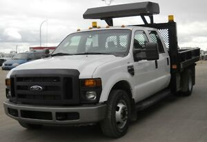 2008 Ford F350 Box and Hoist
