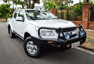 2014 Holden Colorado RG MY14 LX Crew Cab White 6 Speed Sports Automatic Utility Medindie Walkerville Area Preview