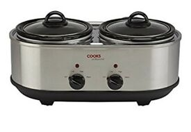 Brand new boxed, unopened 'cooks' twin slow cooker
