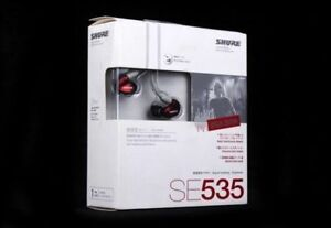 Shure SE535 Stereo Headphone Japan Limited Edition *NEW* L@@K