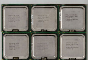 Intel Core 2 Quad/Core 2 Duo Processors LGA775 800/1066/1333 CPU
