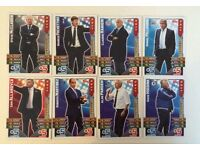 132 March attax and match attax extra cards 2016 no doubles!