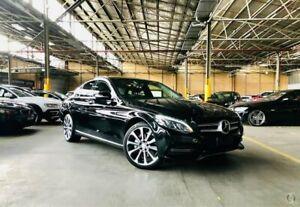 2015 Mercedes-Benz C-Class W205 C250 BlueTEC 7G-Tronic + Black 7 Speed Sports Automatic Sedan Port Melbourne Port Phillip Preview