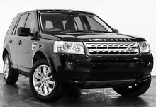 2011 Land Rover Freelander 2 LF MY11 Si6 XS Black 6 Speed Sports Automatic Wagon Rozelle Leichhardt Area Preview
