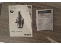 Philips Viva Collection Juicer h1863 edition