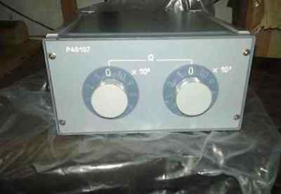 10 - 1000mohm Decade Resistance Standard Box Resistor P40107 Accuracy 0.02