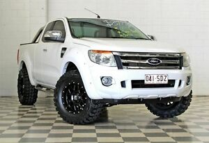 2011 Ford Ranger PX XLT 3.2 HI-Rider (4x2) White 6 Speed Automatic Super Cab Utility Burleigh Heads Gold Coast South Preview