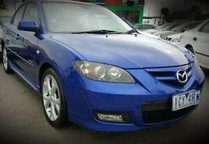 2007 Mazda 3 BK1032 SP23 Blue 5 Speed Sports Automatic Sedan Cheltenham Kingston Area Preview