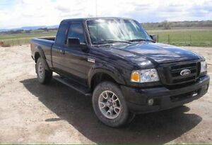 2007 Ford Ranger Short Box Truck