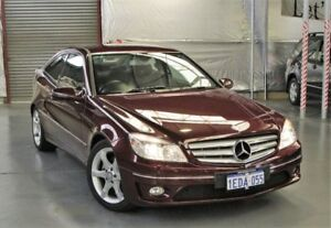 2010 Mercedes-Benz CLC200 Kompressor CL203 Maroon 5 Speed Automatic Coupe Myaree Melville Area Preview