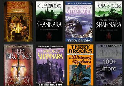 18 Audiobooks - The Shannara Complete Series By Terry Brooks Unabridged Mp3 dvd