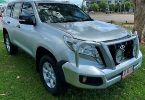 2013 Toyota Landcruiser Prado KDJ150R GX Silver 5 Speed Automatic Wagon Berrimah Darwin City Preview