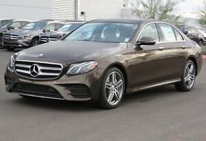 2017 Mercedes-Benz E-Class 4Matic Sedan