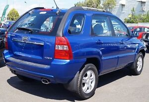 2007 Kia Sportage KM2 EX Blue 6 Speed Manual Wagon Bundaberg West Bundaberg City Preview