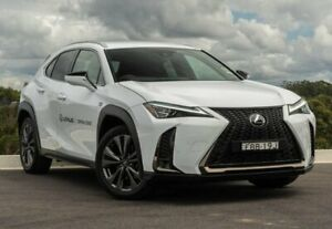 2019 Lexus UX MZAA10R UX200 2WD F Sport White Nova 1 Speed Constant Variable Hatchback Somersby Gosford Area Preview